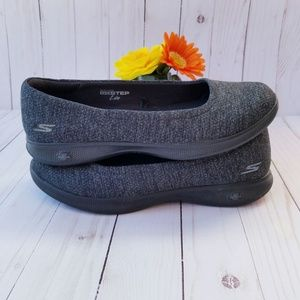Skechers Go Step Lite Slip On Walking Shoes Sz 8.5